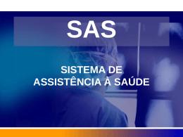 CADASTRO SAS - Escola de Governo