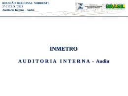 Apresentação Audin - Sandro Marcio dos Santos Costa