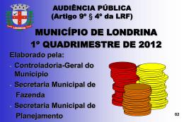 Apresentação 1º Quadrimestre 2012 (formato ppt - 924 KB)