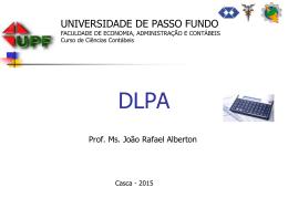 Exemplo DLPA