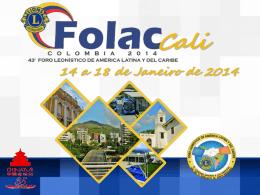 FOLAC 2014 - Cali, Colômbia