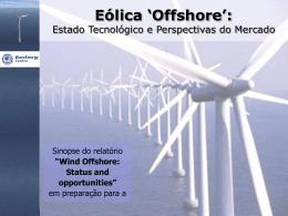 Eólica `Offshore`