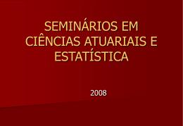 Estatística: o que é ? - Instituto de Matemática