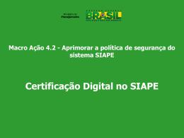 Siape-Certificacao