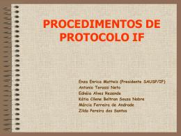Manual resumido de uso do Sistema PROTEOS