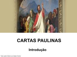Introdução as Cartas Paulinas (2)