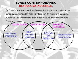 Revolução Industrial - Prof. Carlos A. Guzzo
