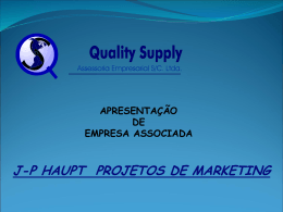 Marketing - Quality Supply