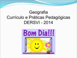 Slide 1 - Currículo e Práticas Pedagógicas