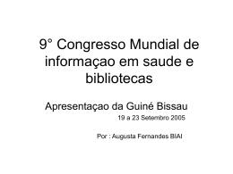 Apresentação Guiné
