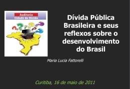 Fonte: Banco Central. Nota - Auditoria Cidadã da Dívida