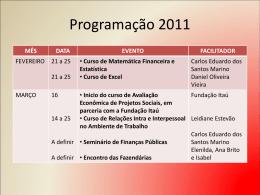 Slide 1 - Fundação Sintaf