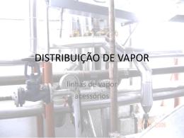 DISTRIBUIÇÃO DE VAPOR