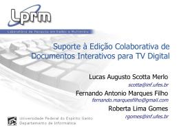 Suporte à Edição Colaborativa de Documentos