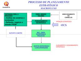 Reflexão, negócio e missão PGQP