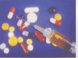 A administração de medicamento