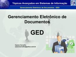 7 - Gerenciamento Eletronico de Documentos - GED