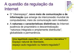 A regulação do ambiente - Faculdade de Direito da UNL