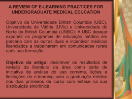 A REVIEW OF E-LEARNING PRACTICES FOR