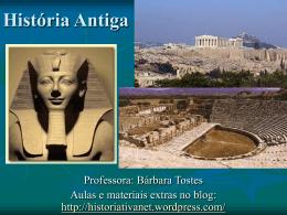 aula extra história antiga - HISTORIATIVA NET