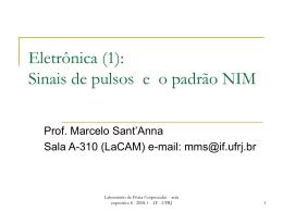 Aula 8 - Instituto de Física / UFRJ