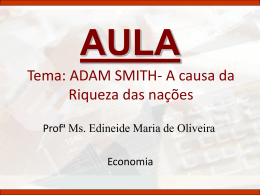 Adam Smith I