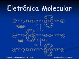 Electrónica molecular.