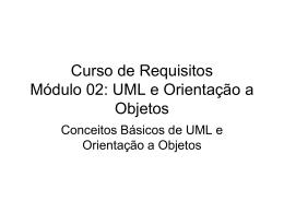 Curso Requisitos - UML e Orientação a Objetos