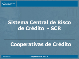cliente - Banco Central do Brasil