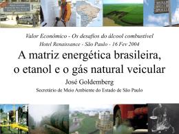 Matriz energetica brasileira