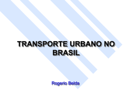 Aula 20 08-10 - A Política de mobilidade urbana