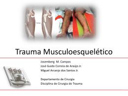 ATLS TRAUMATISMO TORÁCICO - Disciplina de Cirurgia do Trauma