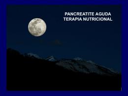 Pancreatite Aguda Terapia Nutricional