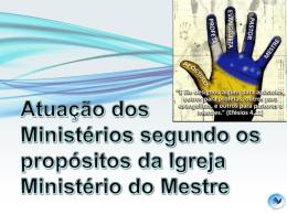 O ministério do Mestre