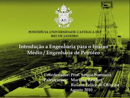 Engenharia de petróleo - PUC