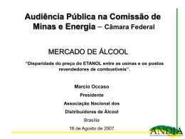 Audiência Pública C.M.E ETANOL