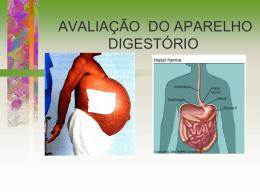 avaliação do aparelho digestório - Universidade Castelo Branco