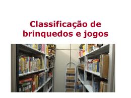 Catalogação de Jogos e Brinquedos - ITLA