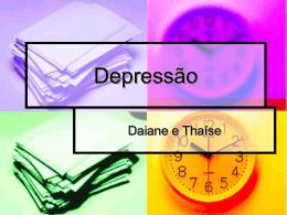 Depressão - Capital Social Sul