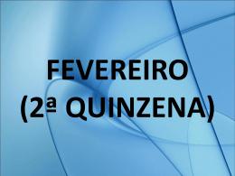 FEVEREIRO (MÊS COMPLETO)
