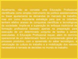 7-Reflexão Educação Profissional