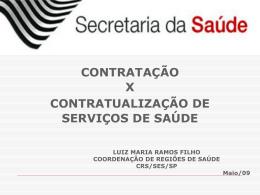 ORIENTAÇÕES PARA COMPRA DE SERVIÇOS DE SAÚDE