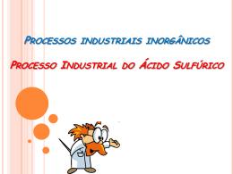 prod. ind. ácido sulfúrico
