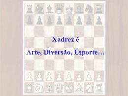 Xadrez é Arte, Diversão, Esporte… Árabes