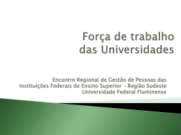 Apresentação Coordenação Geral de Recursos