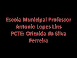 Projeto Bulling - EMProfessorAntonioLopesLins