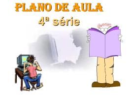 Apresentação do PLANO DE AULA
