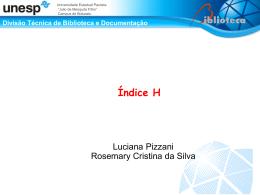 Indice H - Biblioteca