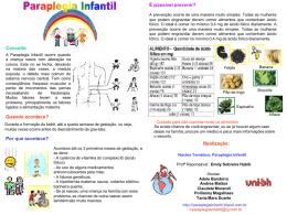Slide sem título - Paraplegia Infantil
