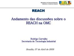 Dr. Rocrigo Carvalho - Ministério do Desenvolvimento, Indústria